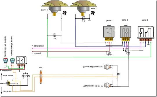 Вентиляторы-схема