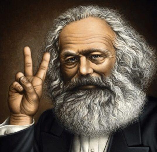 Майонез в бороде Карла Маркса 1