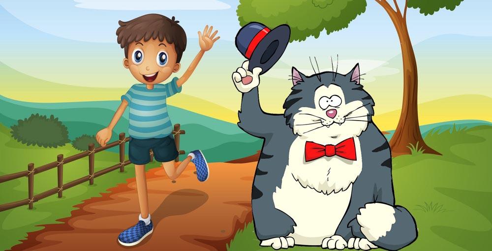 Кот и его мальчик