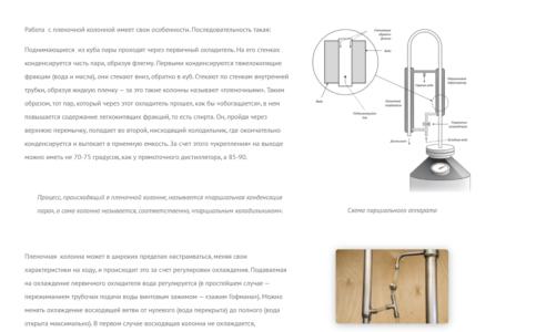 Онлайн-руководство по производству дистиллятов
