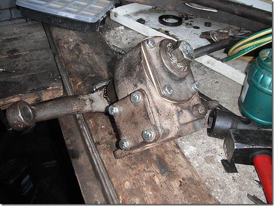 Ремонт рулевой уаз 469 своими руками